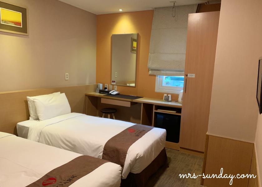 【韓国 明洞】立地抜群の常宿ホテル「スカイパーク明洞3」